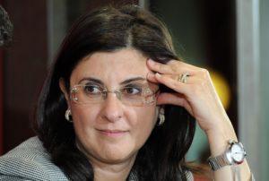 L'ex sindaco di Capo Rizzuto Carolina Girasole in una foto di archivio.  ANSA/ ALESSANDRO DI MARCO